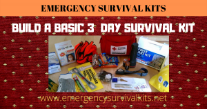 Build A Basic 3 Day Survival Kit