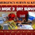 Build A Basic 3 Day Survival Kit