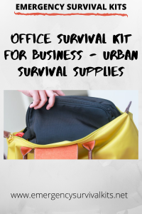 Office Survival Kit for Businesses - Urban Survival Supplies