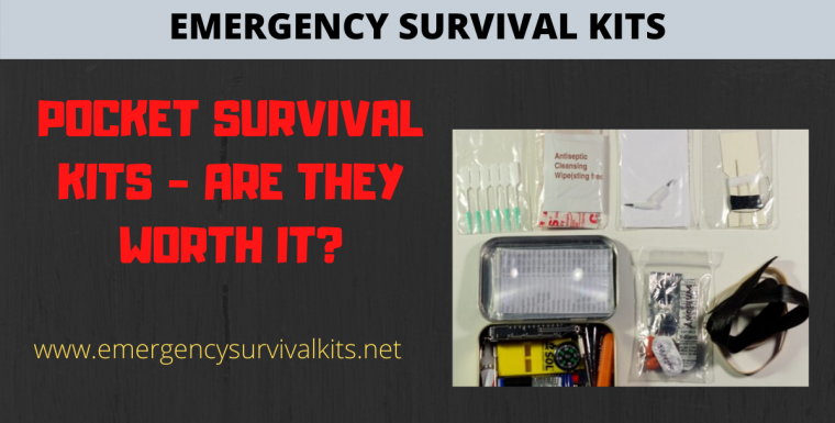 Pocket Survival Kits – Are They Worth It?