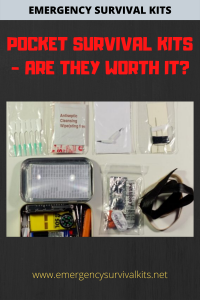 Pocket Survival Kits - Are They Worth It?