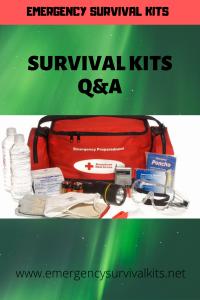Survival Kits Q&A