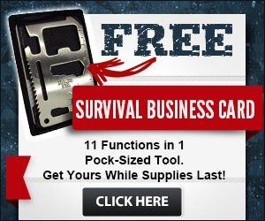 Survival Business Card