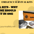 Survival Kits - Why Everyone Should Invest In One