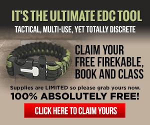FireKable Free Paracord Bracelet